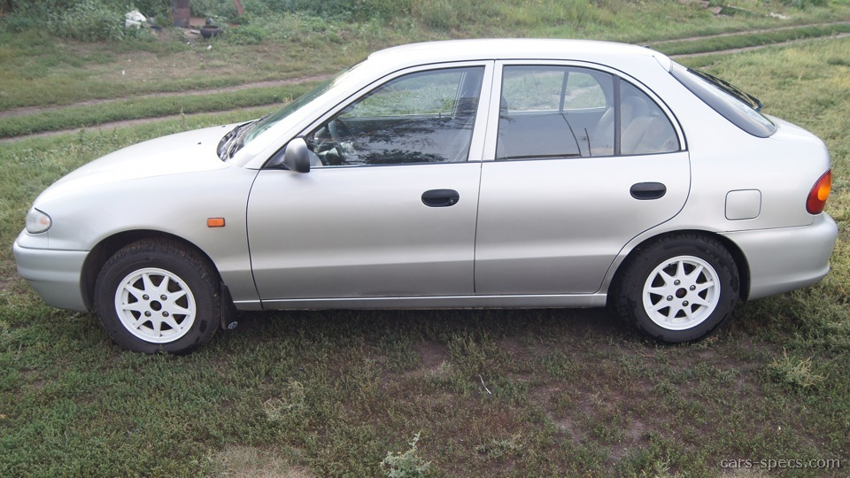 1995 Hyundai Accent Hatchback Specifications, Pictures, Prices