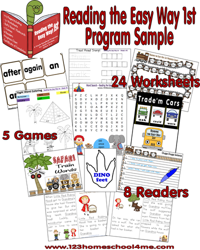 Reading the Easy Way 1st Grade Program Sample
