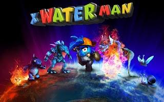 Screenshot of X WaterMan 3D