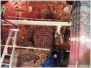 Изготовление статуи Будды. Фото Лобанова В. www.timeteka.ru