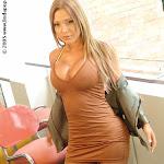 Milena Guzman Striptease Foto 14