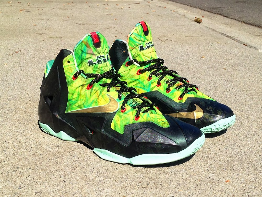new product 423be abbb1 ... Nike LeBron XI 8220Kings Rings8221 by Lancer Customs ...