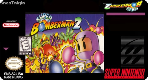label-Super Bomberman 2-snes