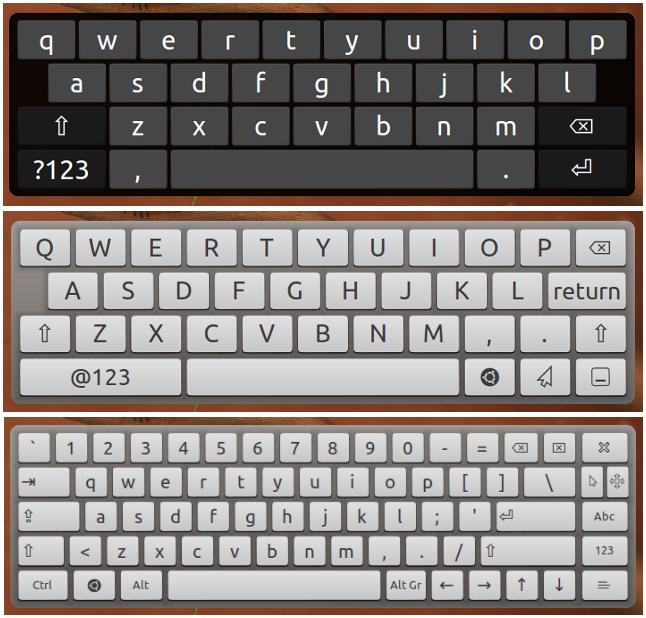 tastiera virtuale per ubuntu