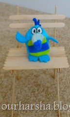 Popsicle sticks Chair (15)