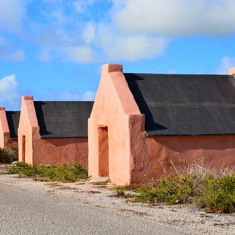 The Slave Huts of Bonaire