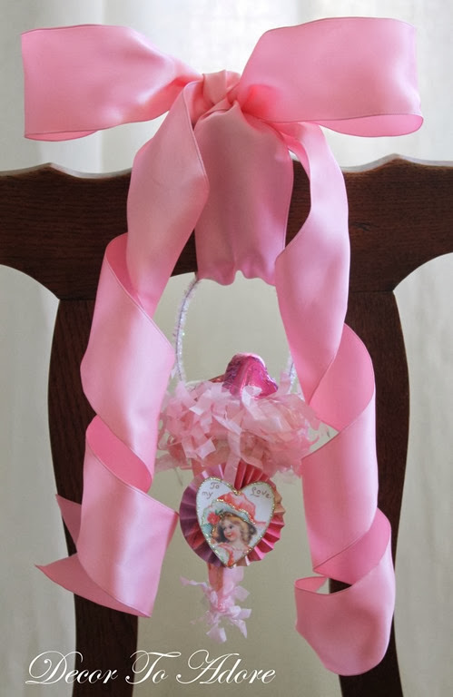 Valentine Tussie Mussie Candy Container Tutorial