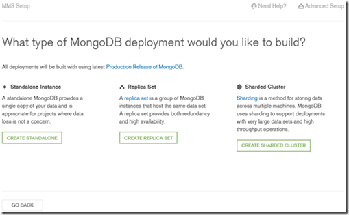 MongoDB clusters on Azure using MMS and Custom Script