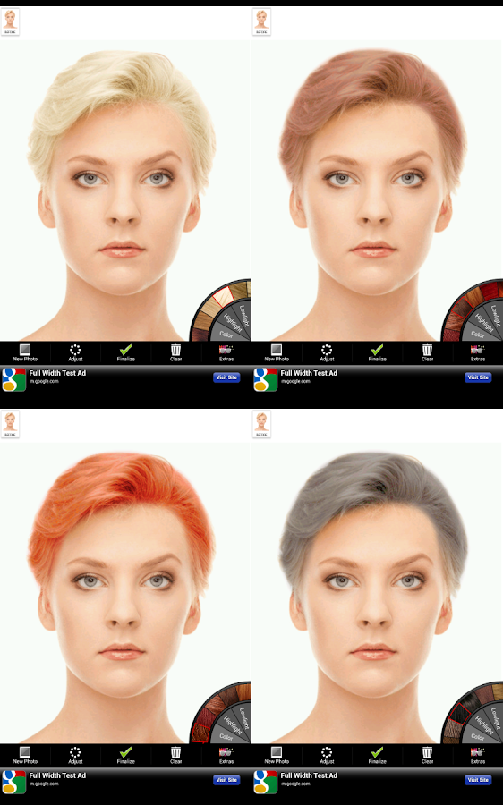 Hair Color- screenshot
