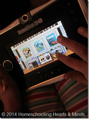 Review Pixar Play Innotab at Homeschooling Hearts & Minds
