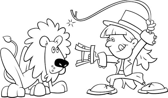 Dibujos Del Circo Para Colorear