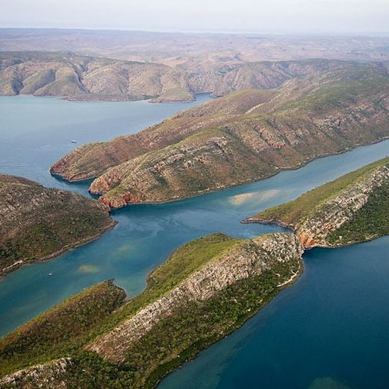 Horizontal Waterfalls in Talbot Bay, Australia