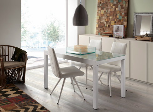 Mesas extensibles para el comedor. Una solución muy práctica para ...