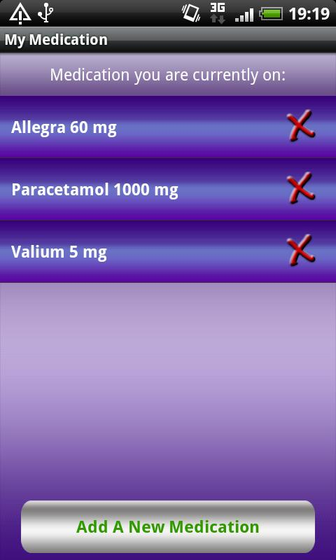 My Medication - screenshot