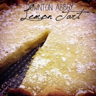 Downton Abbey Lemon Tart