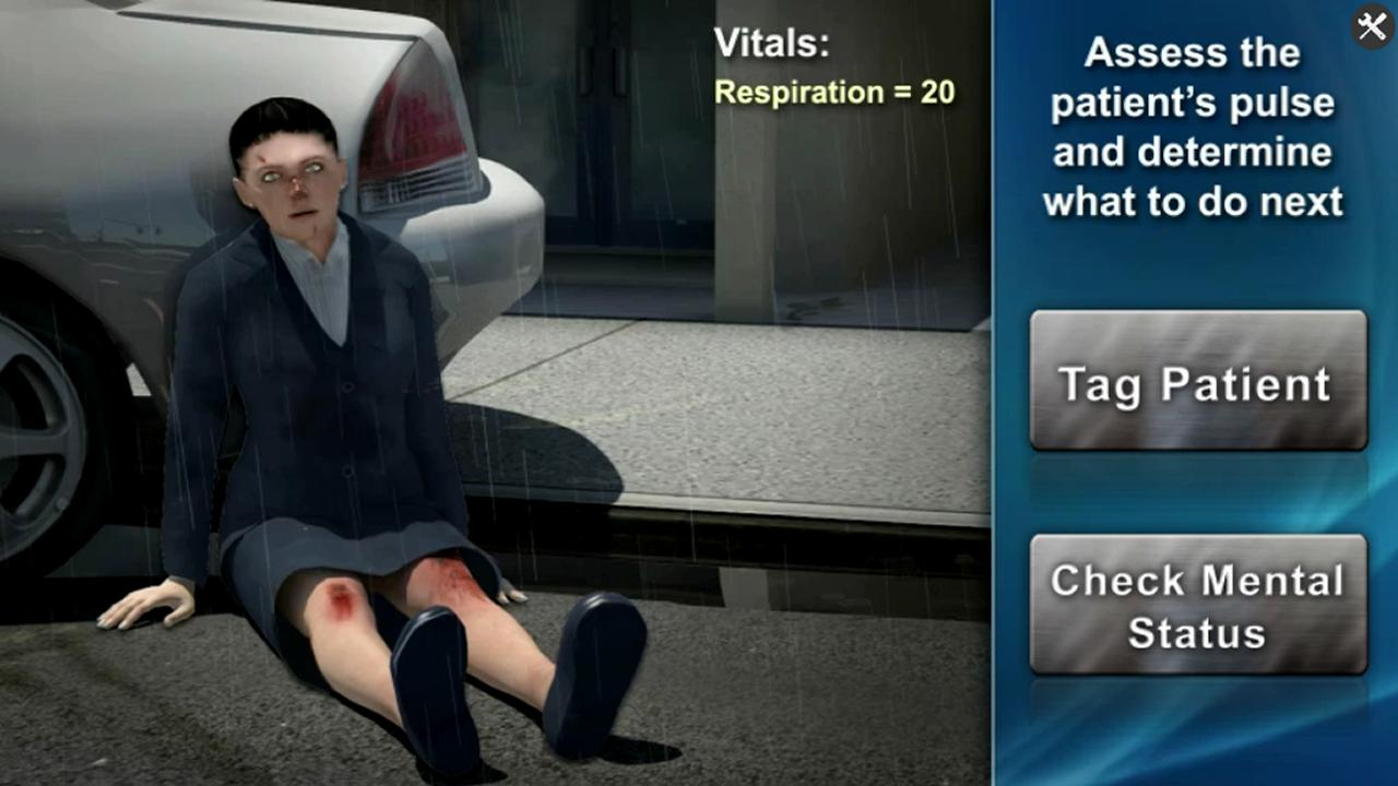 Medrills: Triage- screenshot