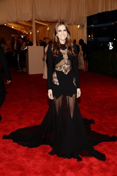 Allison Williams attends the Costume Institute Gala (converted)