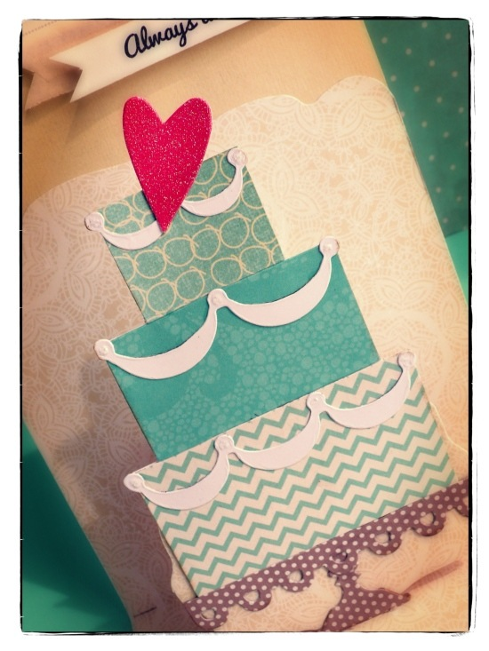 cafe creativo - big shot sizzix - card pop up matrimonio