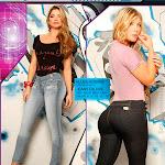 Angelica Jaramillo y Sofia Jaramillo Modelando D'Axxys Jeans Foto 8