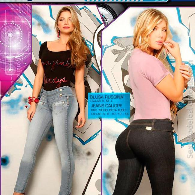 Angelica Jaramillo y Sofia Jaramillo Axxys Jeans Foto 8