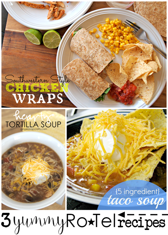 3 Yummy Recipes Using RoTel at GingerSnapCrafts.com #JustAddRotel #CollectiveBias #ad