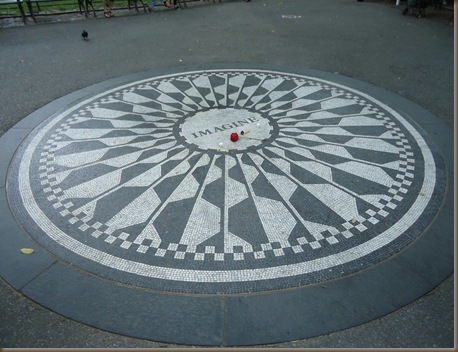 john lennon Strawberry fields memorial