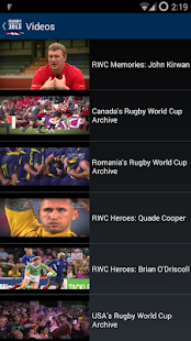 Rugby 2015. World Cup
