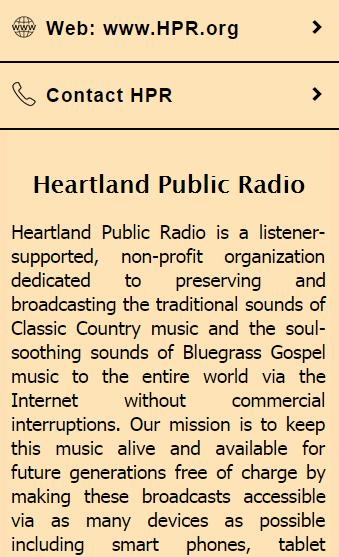 Heartland Public Radio- screenshot