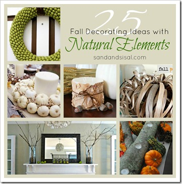 25 Natural Elements Collage