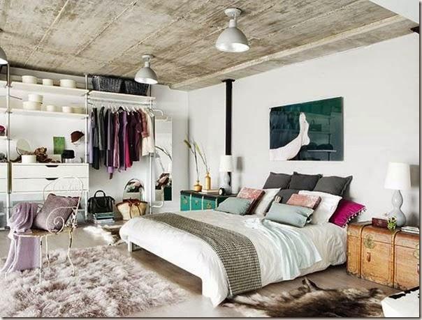 Elegant-two-level-loft-Madrid-1
