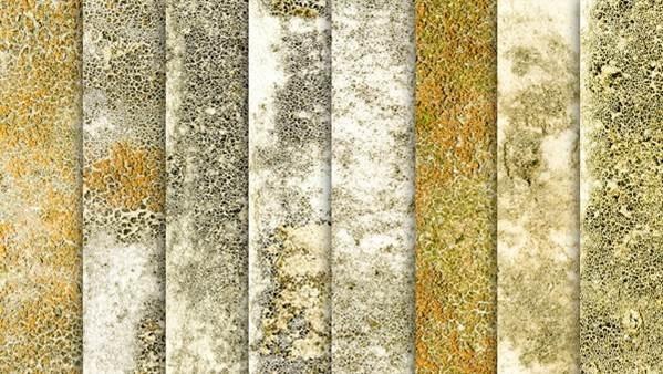 8 texturas de parede envelhecida para uso livre