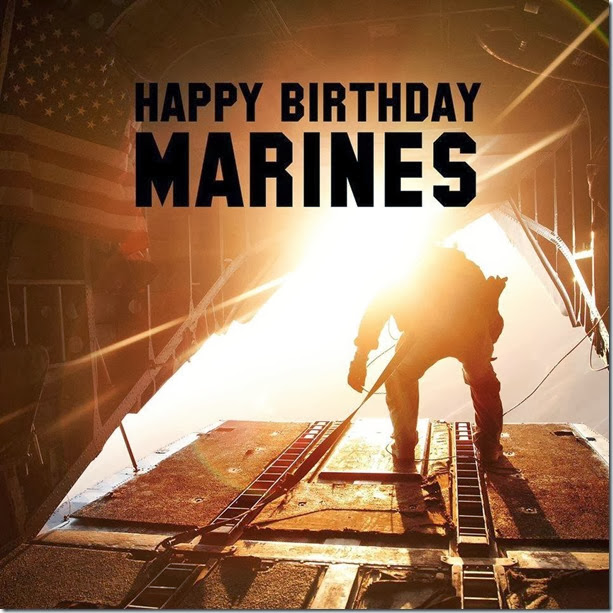 Erik's RV Blog*: Happy Birthday U.S. Marine Corps