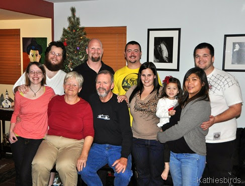 1. our family Christmas 2012