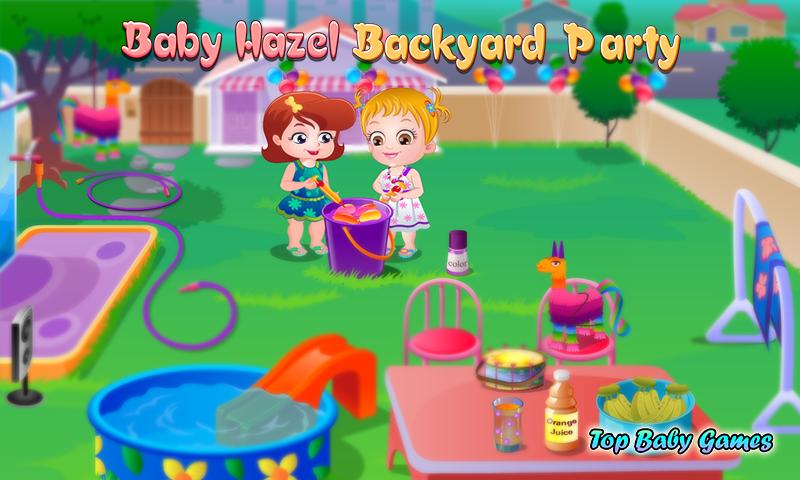 Baby Hazel Backyard Party Screenshot