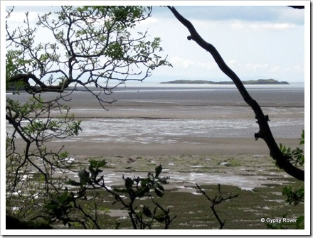 Wigtown Bay mudflats.