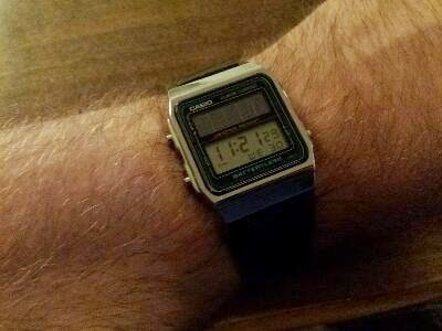 2bddc190381d1 Which Watch Today...  Casio AL-180 Batteryless - 2505 module version