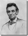 Abraham Lincoln from an unpublished original drawing by John Nelson Marble, The Every-Time Life of Abraham Lincoln, Francis Fisher Browne, 1913