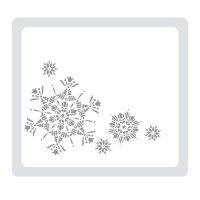SU! Northern Flurry Embossing Folder