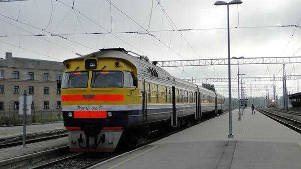 Trem para Sigulda