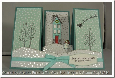 White Christmas, Holiday Home, Amanda Bates, The Craft Spa 005