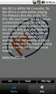 Mix 99.3 - screenshot thumbnail