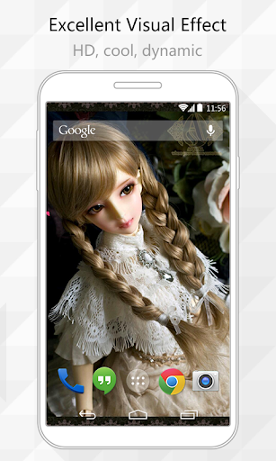 Braided Hair Live Wallpaper
