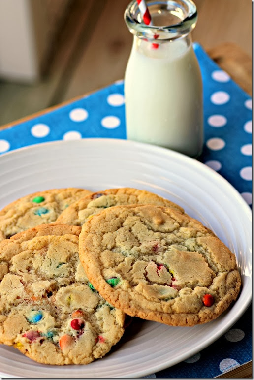 Mini M&M Cookies3
