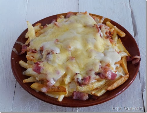 BACON CHEESSE FRIES ESPE SAAVEDRA