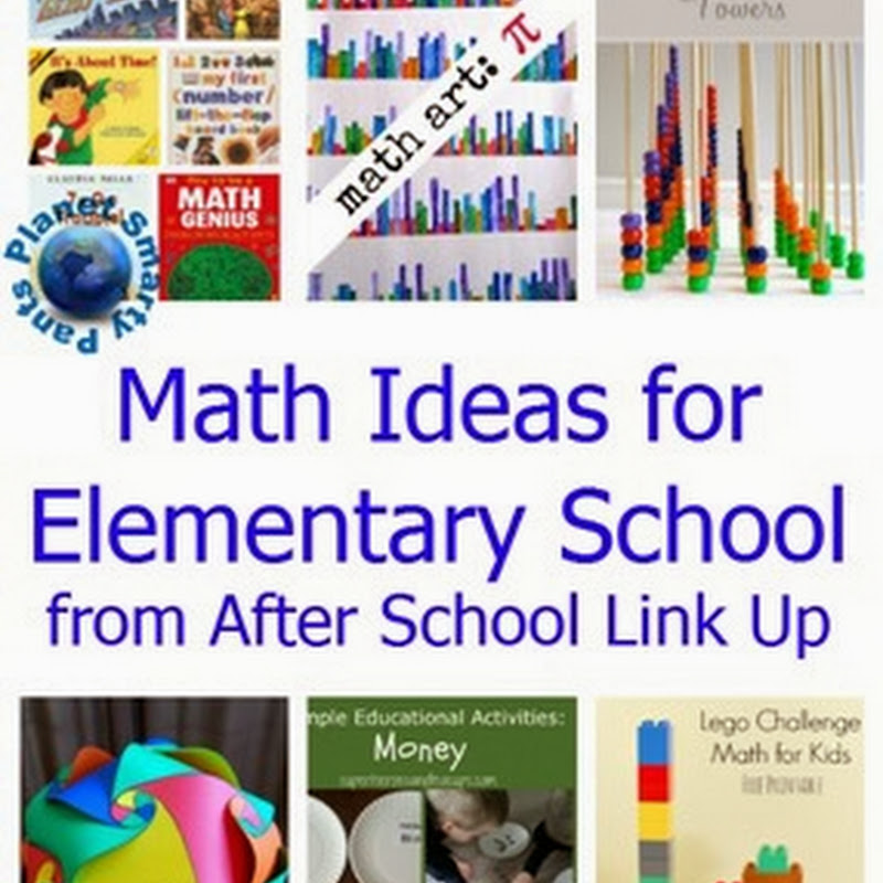 Spring Elementary Math Ideas - After School Link Up