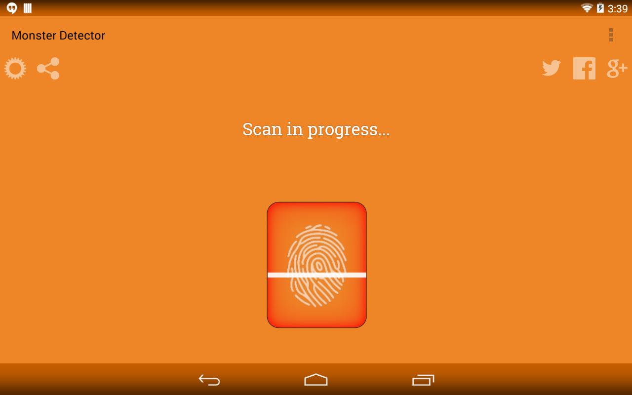 Monster Detector Prank - screenshot