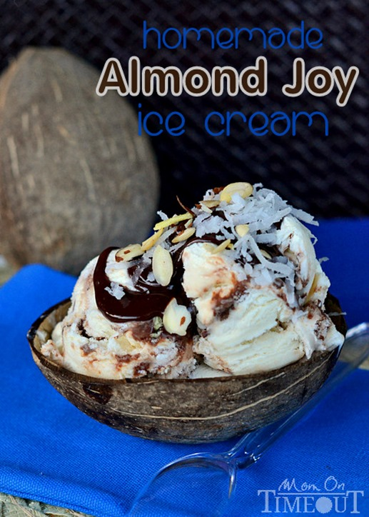 almond-joy-ice-cream-no-machine-homemade