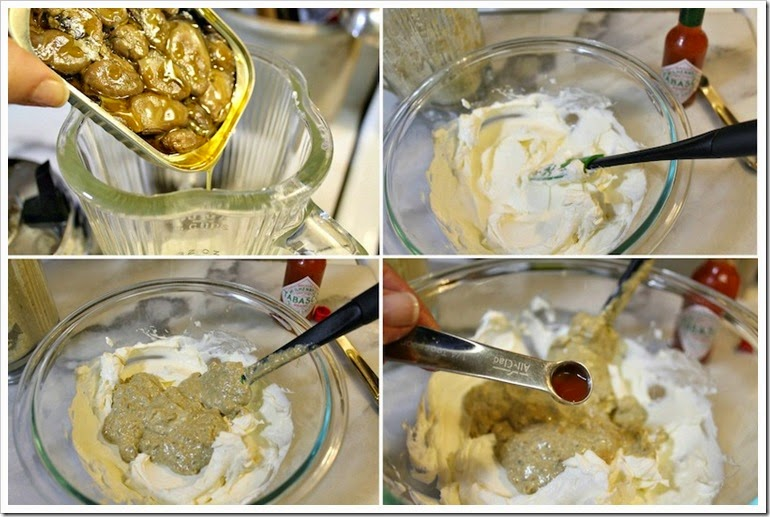 Smoked Oyster Dip | step by step instructions