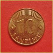 0.10 Lats Letonia