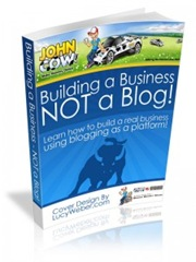 Building a Business not a blog